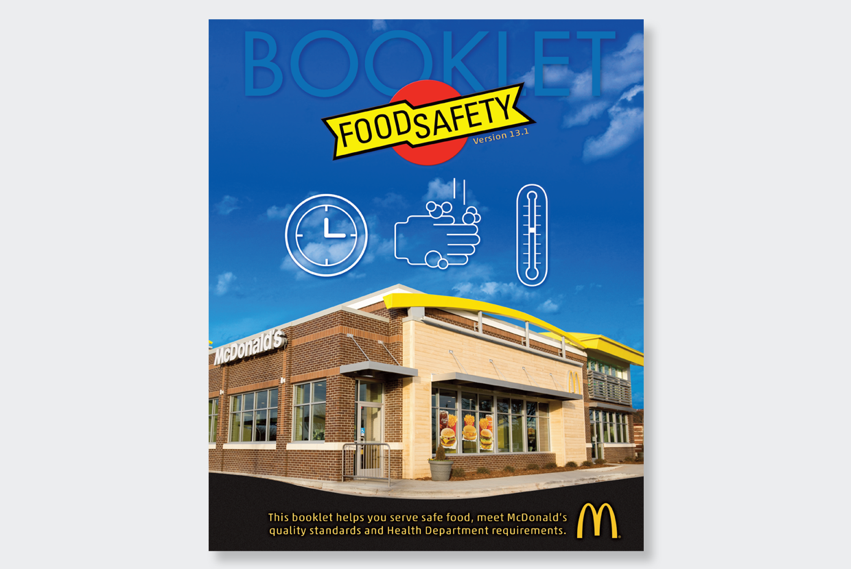 Food Safety Booklet Cover