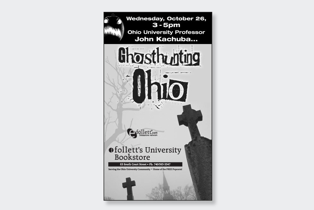 Ohio Ghost Newspaper Ad