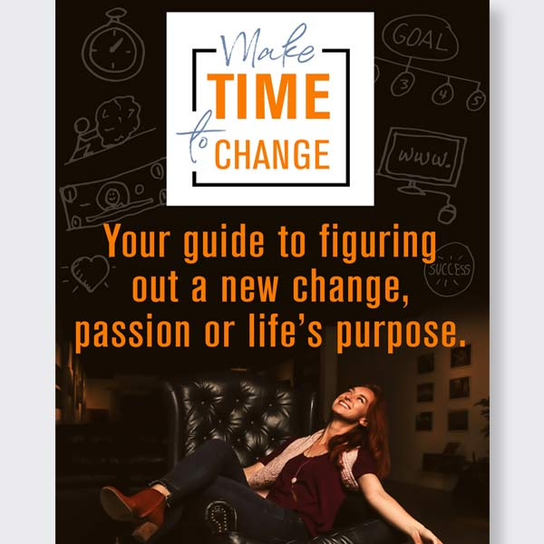 Make Time to Change book on time management and making life changes